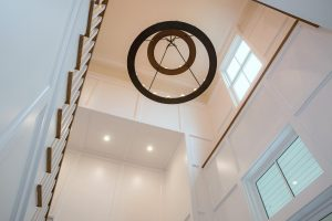 Interior Chandelier | Simpson Construction