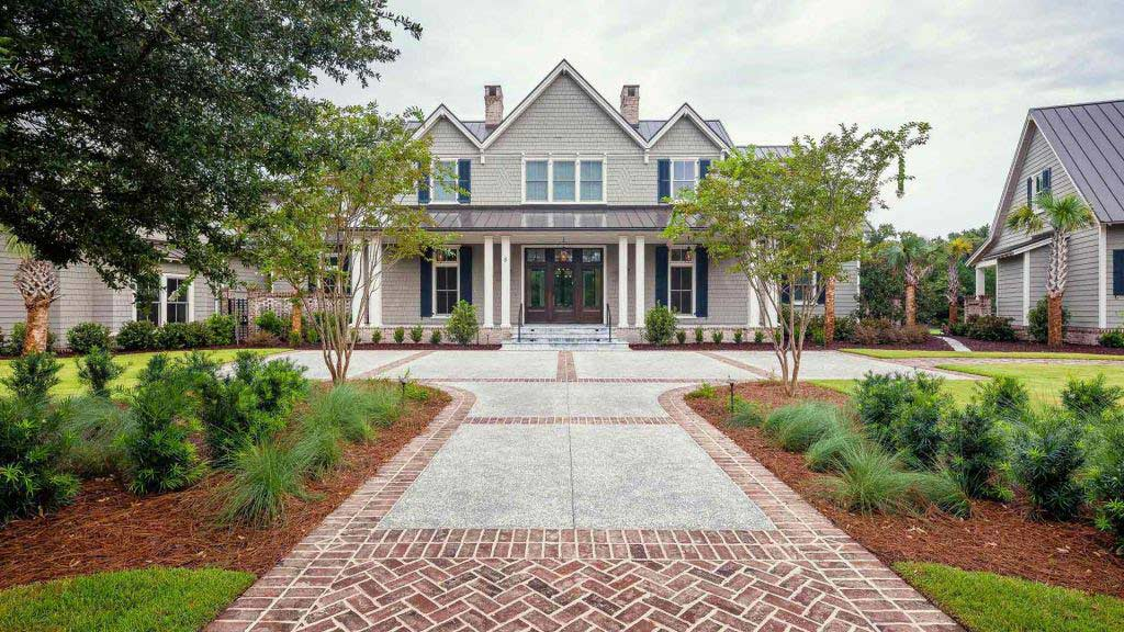 Exterior Lowcountry Home   Bluffton Construction Company